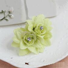 New Hair Clip Pin Barrette Bridal Flower Hairpin Wedding Hair Accessories Blue