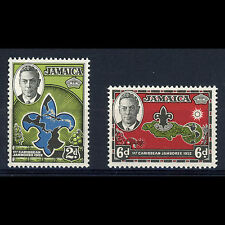 JAMAICA 1952 Scout. SG 151-152. Mint Never Hinged.. (AR173)