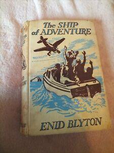1958 The Ship Of Adventure Enid Blyton (RARE BOOK)
