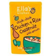 Ella's Kitchen Chick-Chick Chicken + Rice Casserole With Apricots 10 Months 190G