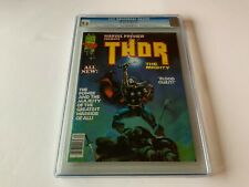 MARVEL PREVIEW 10 CGC 9.6 THOR THE MIGHTY COOL COVER MARVEL MAGAZINE COMICS 1977