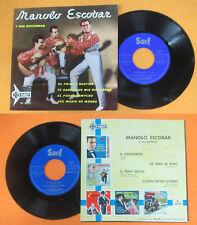 LP 45 7''MANOLO ESCOBAR Y SUS GUITARRAS El primer bautizo Te canto no cd mc dvd