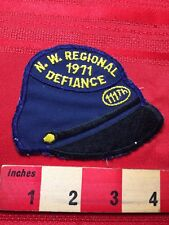 Vtg 1971 111th Nw Regional Defiance Civil War Skirmish Reenactment Patch 77V3