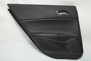 Acura ILX Rear Left/Driver Door Panel Black Leather OEM 19-20 A934 2019, 2020