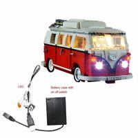 Led Light Kit Only For Lego 10220 The Volkswagen Camper Van Lighting Bricks RTY6