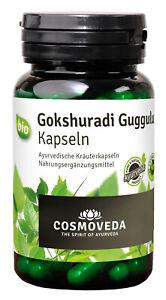 Bio Gokshuradi Guggulu, 80 Kapseln NEU & OVP von Cosmoveda