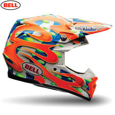 Bell MX Moto-9 Flex Adult Helmet (Mcgrath Replica Orange) MEDIUM 57-58cm