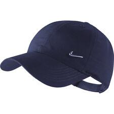 NIKE Kinder Metal Swoosh Logo Cap Kids blau Basecap Unisex Baseballcap Mütze NEU