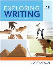 Exploring Writing Paragraphs and Essays by John Langan (2009 Paperback)*NEW*6804