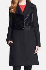 Diane von Furstenberg New Long Sleeve Calf Hair Coat Sz14 MSRP $1698 #J 205 (14)