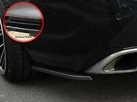 Seitenteile Heckeinsatz aus ABS für Opel Insignia OPC Sportstourer Schwarz Glanz