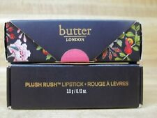 Butter London Plush Rush Lipstick *PICK SHADE* 3.5g/.12oz NIB