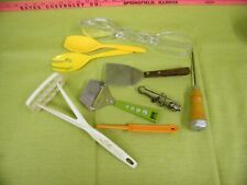 Vintage Travco, Foley And Other kitchen Utensil.