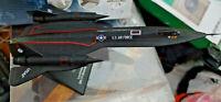 Lockheed SR-71 Blackbird Aero Spia - Scala 1:200 Die Cast - Atlas Jet Age