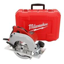 Milwaukee Tilt-Lok Circular Saw w/ Hard Case 15 Amp Corded Cutting Power Tool