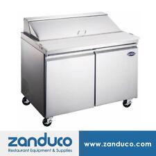 Zanduco 47� Refrigerated Prep Table 9.47 cu. Ft.