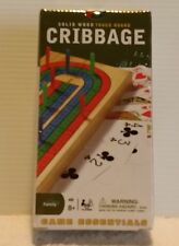 New Solid Wood Folding Cribbage Board