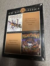 EA CD-ROM Classics Populous II & PowerMonger CD-ROM PC Game Sealed Brand New