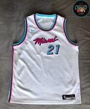 Hassan Whiteside Miami Heat Nike City Edition Jersey Youth XL 100% Genuine