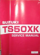 * SUZUKI TS50XK TS 50 XK Mod. 1986-1994 Service Manual Workshop Manual *