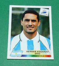 N°504 DIAZ ARGENTINE ARGENTINA PANINI FOOTBALL FRANCE 98 1998 COUPE MONDE WM