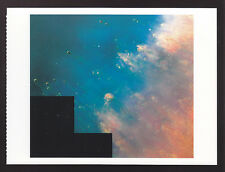 Collision of Gases Near a Dying Star Helix Nebula HUBBLE TELECOPE PHOTO POSTCARD
