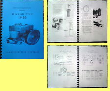 1 H65 REPARATURHANDBUCH MOTOR 1H65 IFA MULTICAR  W50