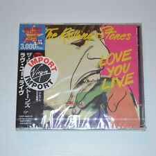 ROLLING STONES - Love you live - 1998 LTD. EDITION 2CD JAPAN NEW & SEALED