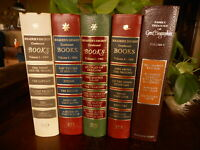 Vintage Books for Decor lot of 5 Readers Digest Etc Variety of Colors Farmhouse