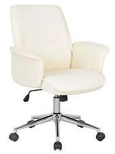 chaise bureau cuir blanc en vente | eBay