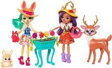 Enchantimals Garden Magic Set -  Danessa Deer & Bree Bunny Doll NEW 2017