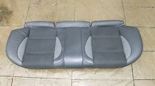 Lower Rear Seat Section With Split Half Leather fits MG ZR