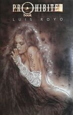 RARE ~ LUIS ROYO PROHIBITED Vol 1 HC ~~ Autograph SIGNED with ORIGINAL SKETCH
