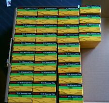 Kodak Tri-X 7266 B&W Super 8mm Movie Film Reversal Sealed 20 Boxes -  Sold Each