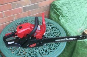 """Mountfield MC3720 40cm/16"""" Petrol Chainsaw in Good Used Condition Herefordshire"""