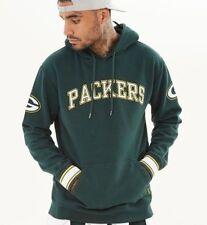 NFL Green Bay Packers Sudadera con capucha de hombre talla pequeña Suéter Capucha  Greenbay cad2e8b4262