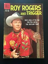 Roy Rogers Comics #130 (Dell, 1959) Comic Book SIGNED BY ROY ROGERS - Fine