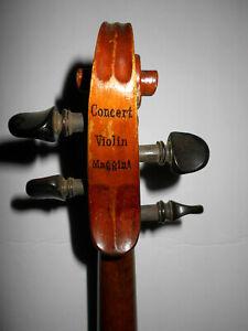 """Nice Old Antique Vintage """"Concert - Maggini"""" Full Size Violin - No Reserve"""