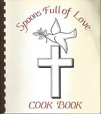 *NOBLESVILLE IN 1983 CHURCH OF GOD COOK BOOK *SPOONS FULL OF LOVE *INDIANA *RARE