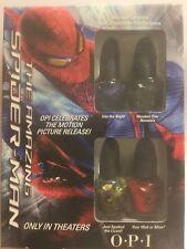 OPI Nail Lacquer - MINI THE AMAZING SPIDER-MAN SET (4pcs x 3.75ml) NEW