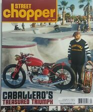 Street Chopper Fall Winter 2016 Caballero's Treasured Triumph FREE SHIPPING sb