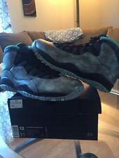 Nike Air Jordan 10 Retro Liberty Size 12 NYC ASG MSG Silver Gold Star 705178-045