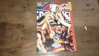 1997 ADELAIDE CROWS PREMIERSHIP WIN DINNER SOUVENIR MENU