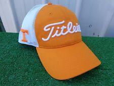 Titleist U of Tennessee Vols UT Mesh Back Adjustable SnapBack Golf Hat Cap NEW