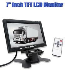 "7"" 12V-24V TFT Car LCD Rear View Screen Monitor For Reversing Camera / DVD VCD"
