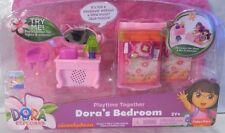 NEW Dora Playtime Together dollhouse Lights & Sounds DORA'S BEDROOM X2322