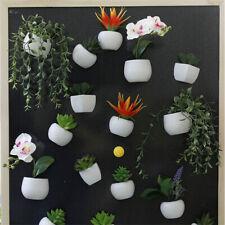 Verde Artificial Flor Suculenta En Maceta Decorativa Imanes De Refrigerador