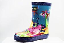 HAVAIANAS KIDS BOOTS SUMMER PRINT WELLINGTON BOOTS BRAND NEW SIZE UK C10 (FF9)