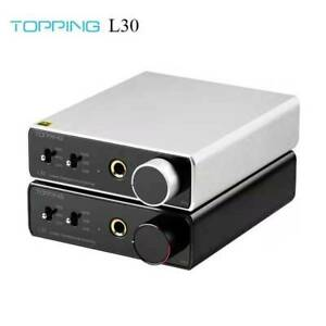 TOPPING L30 Headphone Amplifier RCA Hi-Res Preamp for E30 DAC (New Serial No.)