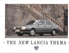 LANCIA THEMA FULL RANGE CAR BROCHURE OCTOBER 1988 FOR 1989 MODEL YEAR